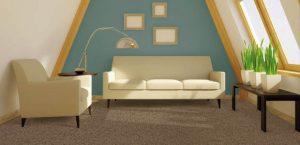 Ambiente com Carpete Maxim