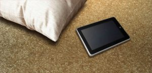 Ambiente com Carpete Titan Frise