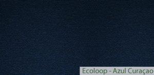 Carpete (Forração) para Eventos Ecoloop Azul Curaçao