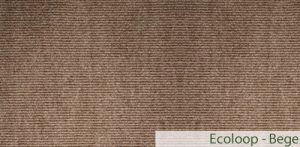 Carpete (Forração) para Eventos Ecoloop Bege