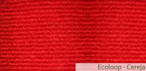 Carpete (Forração) para Eventos Ecoloop Cereja