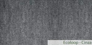 Carpete (Forração) para Eventos Ecoloop Cinza