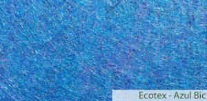Carpete (Forração) para Evento Ecotex Azul Bic