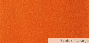 Carpete (Forração) para Evento Ecotex Laranja