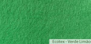 Carpete (Forração) para Evento Ecotex Verde Limão