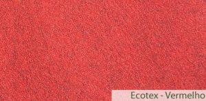 Carpete (Forração) para Evento Ecotex Vermelho