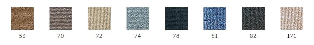 Linha de Carpete Zipping: Astra