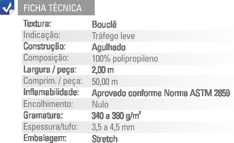 Ficha Técnica Forração Loop Etruria