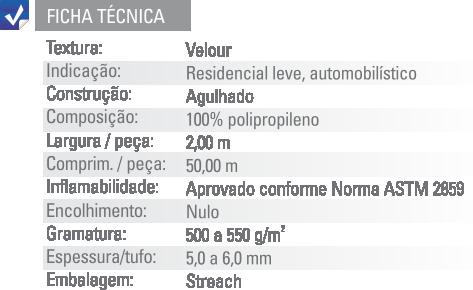 Ficha Técnica Forração Autolour Etruria