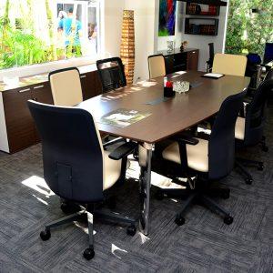 Ambiente com Carpete em Placas Equinox