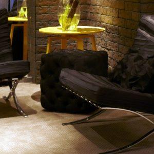 Ambiente com Carpete em Rolo Bolero