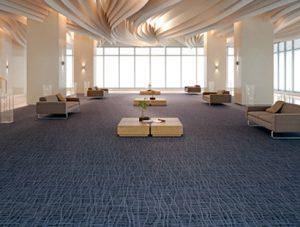 Ambiente com Carpete em Rolo Colortuft Urbano