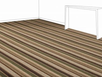 Ambiente com Carpete em Rolo Metropolitan