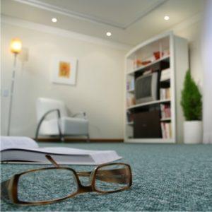 Ambiente com Carpete em Rolo New Wave