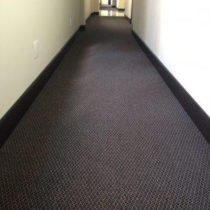 Ambiente com Carpete em Rolo Prisma