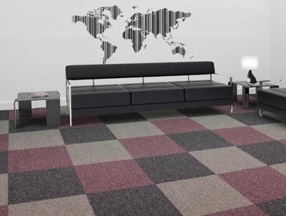 Carpete em Placa Mistral