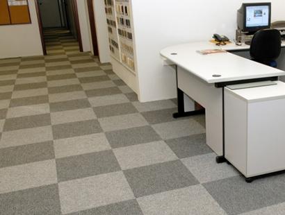 Carpete em Placa Plain Bac
