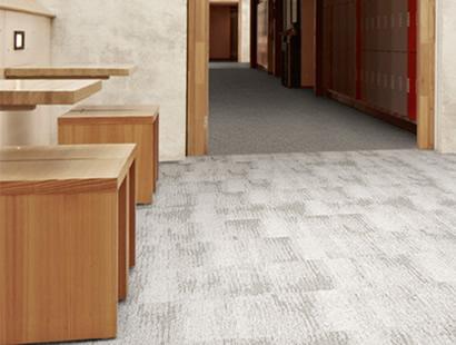 Carpete em Placa Desso Essence Structure