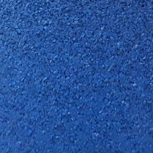 Piso de Borracha Azul