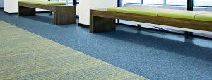 Ambiente com Carpete em Placa DESSO - Essence