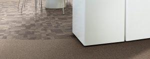 Ambiente com Carpete em Placa DESSO - Essence Maze