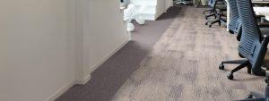 Ambiente com Carpete em Placa DESSO - Essence Structure