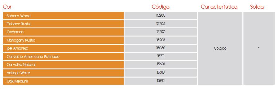 Cores Piso Vinílico Revitech Natural Vision Wood Premium