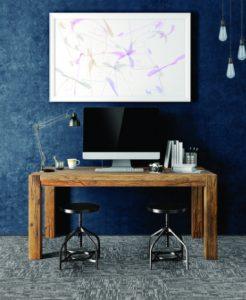 Ambiente com Carpete em Placa Tarkett Basic Grid