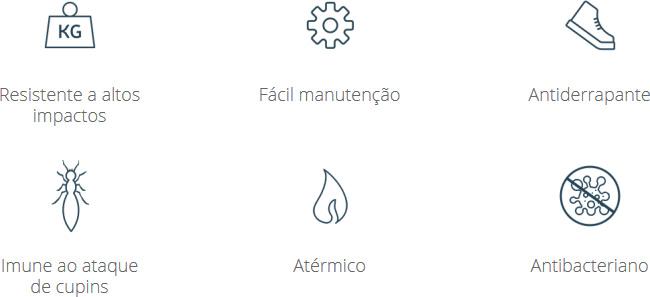 Caracteristicas do Piso Vinílico Acquafloor Stick