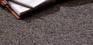 Ambiente com Carpete Buclê Tricolor