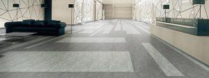 Ambiente com Piso Vinílico Tarkett Decode Concrete