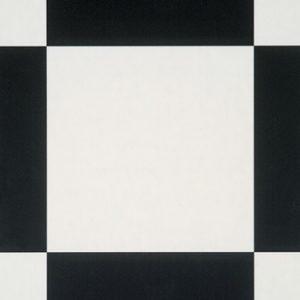 Piso Vinílico Tarkett Decorflex Square Black White 5334034