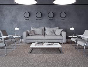 ambiente com carpete em rolo messenger