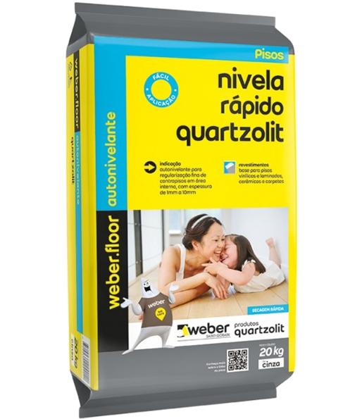 Solução Weber Nivela Rápido Quartzolit