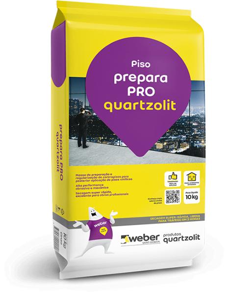 Solução Weber Prepara Pró Quartzolit