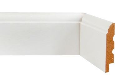 Rodapé MDF Branco
