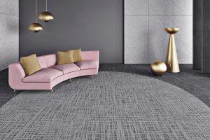 Ambiente com Carpete em Placas Belgotex 3 Tonos 1