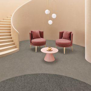 Ambiente com Piso Viílico Belgotex Stonefloor