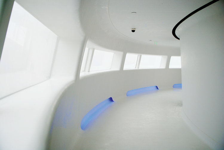 Ambiente com Piso Vinilico LG MediStep