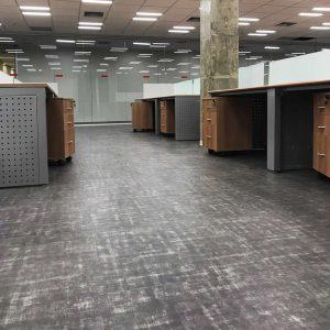 Ambiente com piso vinilico mineral