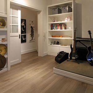 Ambiente com piso vinilico oxflord clic