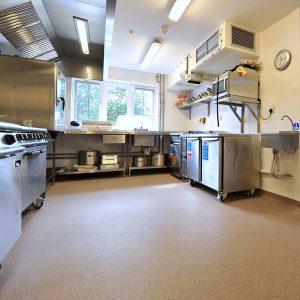 Ambiente com piso vinilico polysafe ultima