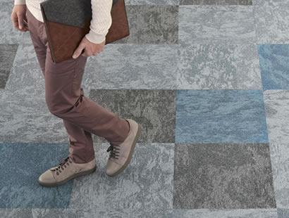 Carpete em Placa Tarket Desso