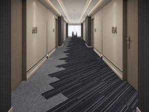Ambiente com Carpete em Placa Agregatta 6