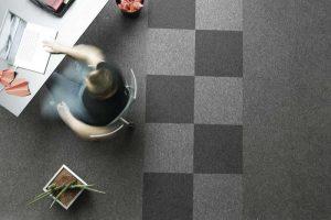Ambiente com Carpete em Placa Astral