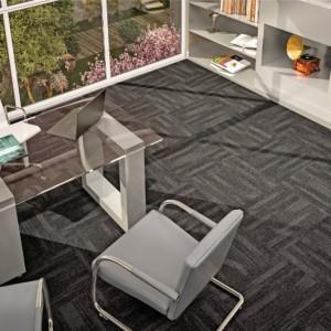 Ambiente com Carpete em Placa Equinox