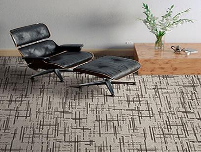Ambiente com Carpete em Placa Gravity Capa