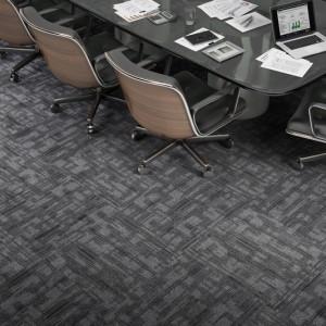 Ambiente com Carpete em Placa Shadow