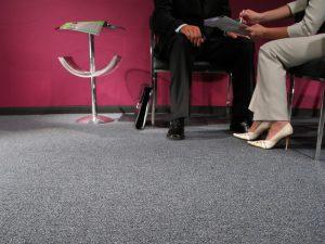 Ambiente com Carpete em Rolo Colorstone