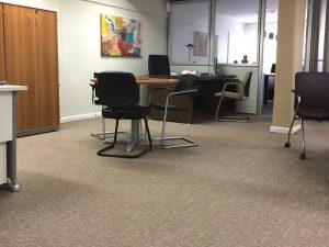 Ambiente com Carpete em Rolo Cross
